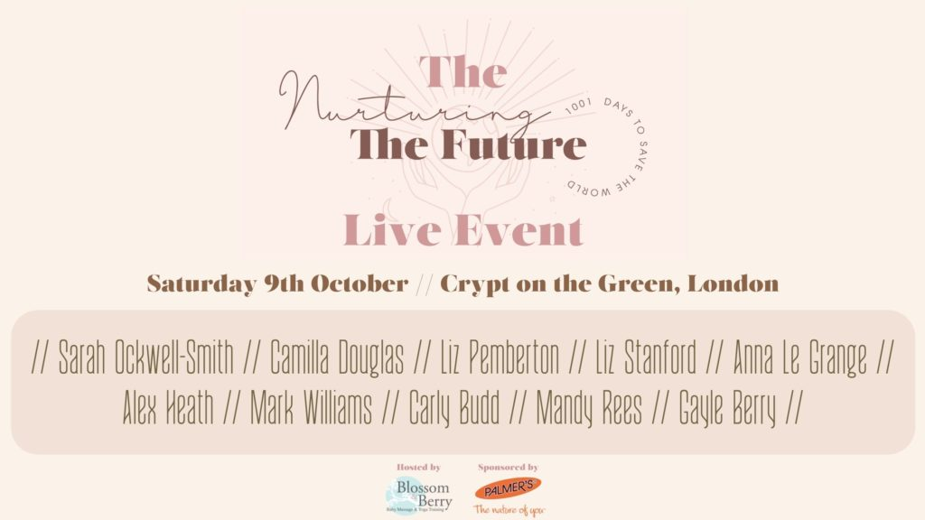 Copy of BANNER Nurturing the Future - Live Event Line Up and Speakers