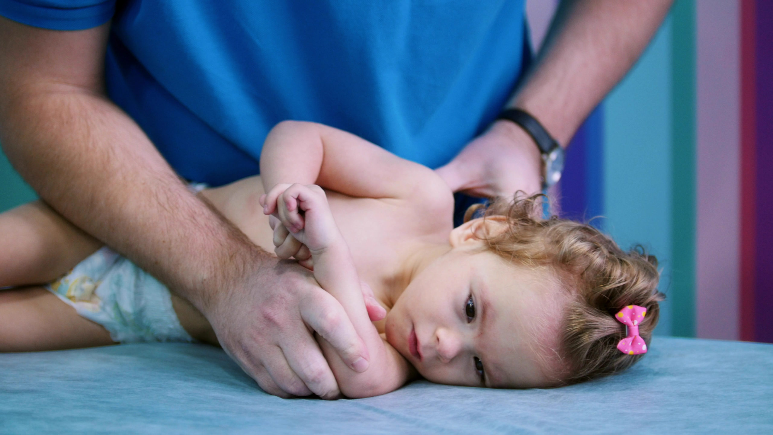 An,Occupation,With,Baby,With,Cerebral,Palsy.,Physiotherapy